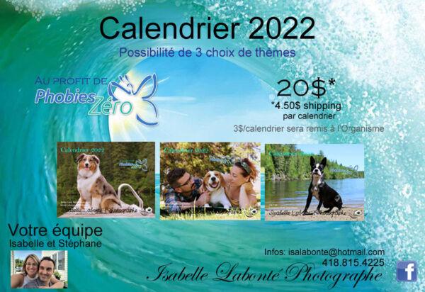 Calendirer Isabelle Labonte 2021 2022